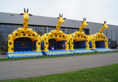 Wholesale Custom Made Inflatable Giraffes Bounce House Suppliers