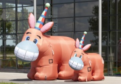wholesale Pin the tail Inflatable Donkey Game suppliers