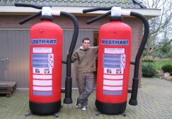wholesale Giant Inflatable Fire Extinguisher Model suppliers