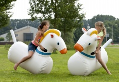 Wholesale Inflatable Bouncy Racing Horses Suppliers