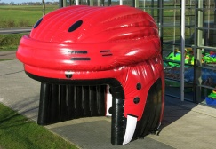 wholesale Icehockey Inflatable Helmet Tent suppliers