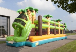 wholesale Jungle Run Inflatable Challenging Sport game suppliers