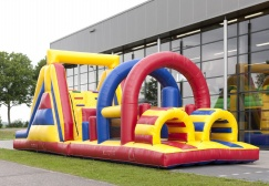 wholesale Colorful Inflatable Obstacle Run Games suppliers