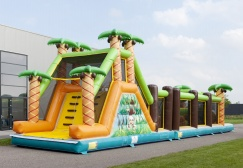 wholesale Mega Jungle inflatable obstacle bouncer suppliers