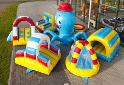 Inflatable Octopus Playground Island Suppliers