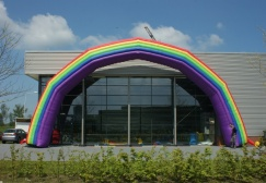 wholesale Giant Inflatable Rainbow Arch suppliers