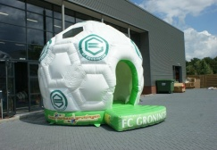wholesale Hot Sale Inflatable Soccer Ball Bouncy Castle suppliers