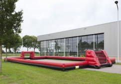 Inflatable Soccer Black Barriers
