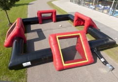 wholesale Inflatable Soccer Field Multiple Goals suppliers