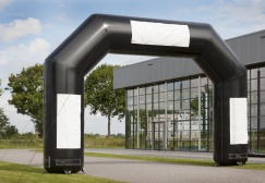 wholesale Black Standard Inflatable Start Finish Arch suppliers