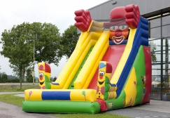 Super Funny Inflatables Clown Slide Suppliers