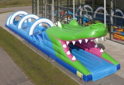 wholesale Long Inflatable Crocodile Belly Slide suppliers