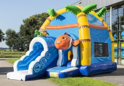 wholesale Seaworld Themed Maxifun Inflatable Combo suppliers