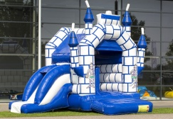 Medium Camelot Inflatable Castle With Slide