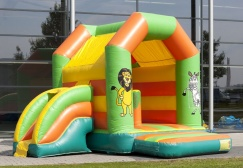 Commercial Jungle Adventure Inflatable Bouncer