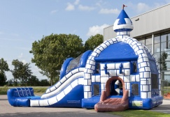 wholesale Large Inflatable Bouncer Combo With Plunge Pool suppliers
