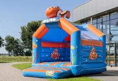 wholesale regular clown fish bounce house suppliers