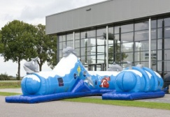 wholesale Inflatable Dolphin Long Play Tunnel suppliers