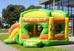 wholesale Pentagon Jungle Inflatable Moonwalk suppliers