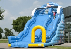 wholesale Mega Inflatable seaworld slide suppliers